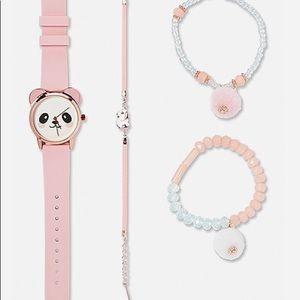 Blushing Panda Watch Set